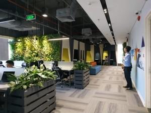 Dự toán thi công nội thất văn phòng