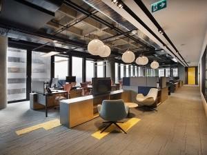 Khái toán thiết kế nội thất khu làm việc chung
