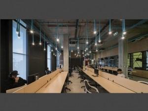 Chi phí thiết kế nội thất khu làm việc chung