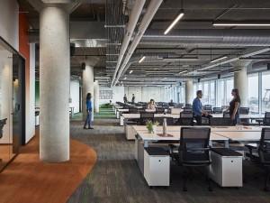 Chi phí cải tạo nội thất khu làm việc chung