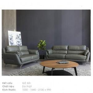 sofa da thật 100%