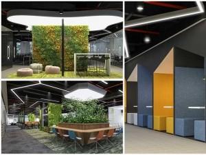 Phong cách thiết kế văn phòng mở hiện đại