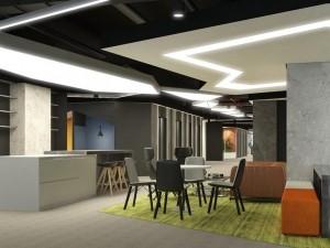 Khái toán thi công nội thất sảnh Lounge