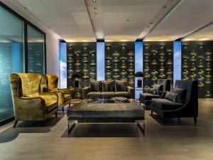 Phong cách thiết kế văn phòng cao cấp Luxury