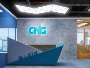 Mẫu nội thất văn phòng 97 chỗ khu 2 GNG Media