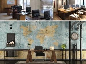 Phong cách thiết kế văn phòng Retro