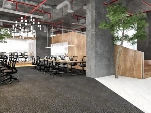 Chi phí thiết kế nội thất phòng nhân viên