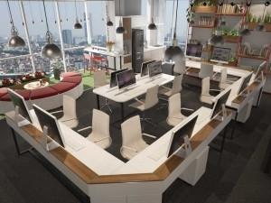 Đơn giá thiết kế nội thất phòng nhân viên