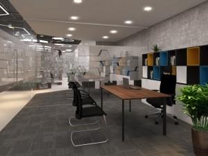 Mẫu nội thất Coworking Space GOLDEN NET dự án 2