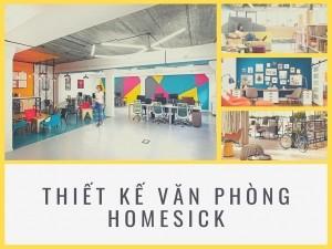"""Phong cách thiết kế """"Homesick office""""- văn phòng kiểu nhớ nhà"""