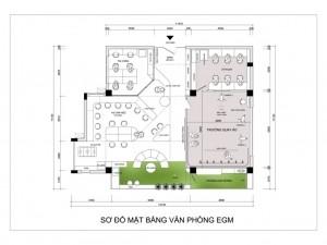 Hồ sơ thiết kế nội thất phòng làm việc