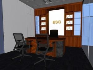 Báo giá thiết kế nội thất phòng giám đốc