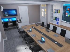 Mẫu nội thất văn phòng tại số 43 Trần Phú