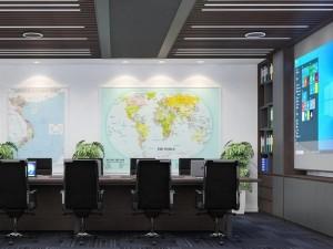 Mẫu nội thất Coworking Space Đại sứ quán Singapore