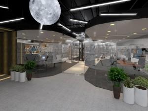 Thi công nội thất văn phòng Golden Net dự án 2