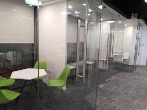 Thi công nội thất văn phòng 180m2 Golden Net dự án 2