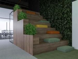 Dự án thiết kế văn phòng 1200m2 công ty Hoàn Mỹ