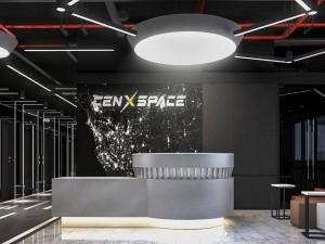 Dự án thiết kế văn phòng 365m2 khu 1 CenXspace Định Công