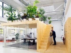 Thi công nội thất văn phòng 350m2 tại The Golden Palm