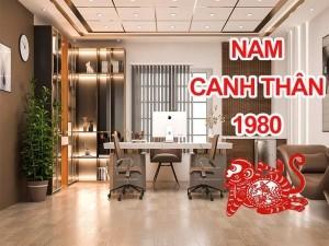 Thiết kế thi công phòng làm việc chủ tịch giám đốc Nam sinh năm 1980
