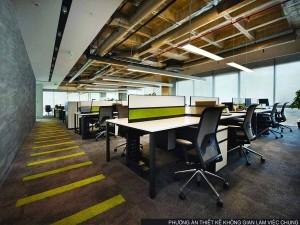 Dự án thiết kế văn phòng 1510m2 tại số 6 Nguyễn Hoàng