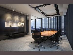 Bản vẽ thiết kế nội thất phòng meeting