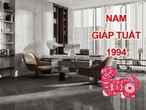 Thiết kế thi công phòng làm việc chủ tịch giám đốc Nam sinh năm 1994
