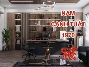 Thiết kế thi công phòng làm việc chủ tịch giám đốc Nam sinh năm 1970