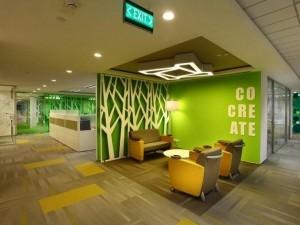 Thi công nội thất văn phòng tòa nhà Việt Đức Complex