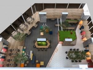 Dự án thiết kế văn phòng tòa nhà The Golden Palm