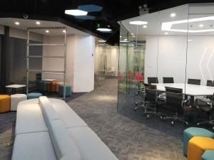 Cải tạo nội thất Coworking Space Goldent Net