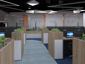 Cải tạo nội thất Coworking Space khu 1 GNG Media