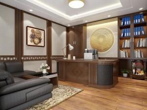 Mẫu nội thất phòng chủ tịch