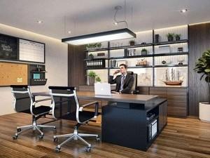 Khái toán cải tạo nội thất phòng lãnh đạo