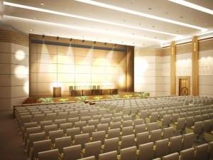 Bản vẽ cải tạo nội thất sân khấu