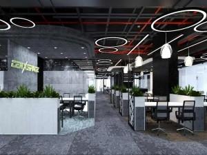 Dự án thiết kế văn phòng 870m2 CenXspace Định Công khu 3