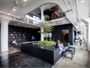 Thi công nội thất văn phòng 1200m2 công ty Hoàn Mỹ