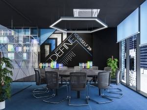 Thi công nội thất Coworking Space tòa nhà Shinkawa