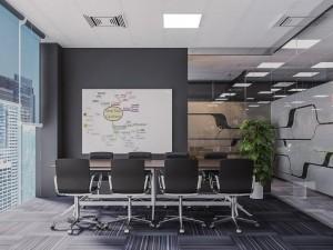 Thi công nội thất văn phòng 190m2 Royal City
