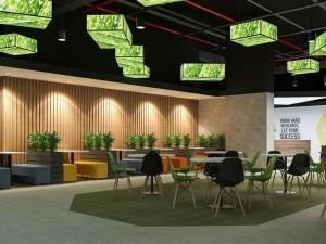 Dự án thiết kế văn phòng 1210m2 tại 39 Lê Văn Lương