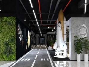 Dự án thiết kế văn phòng 645 chỗ ngồi tại quận Hoàng Mai