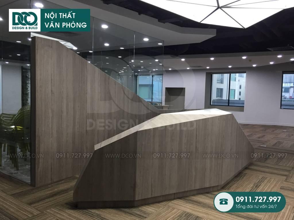 Giai đoạn 2: Thi công nội thất văn phòng UP Kim Mã