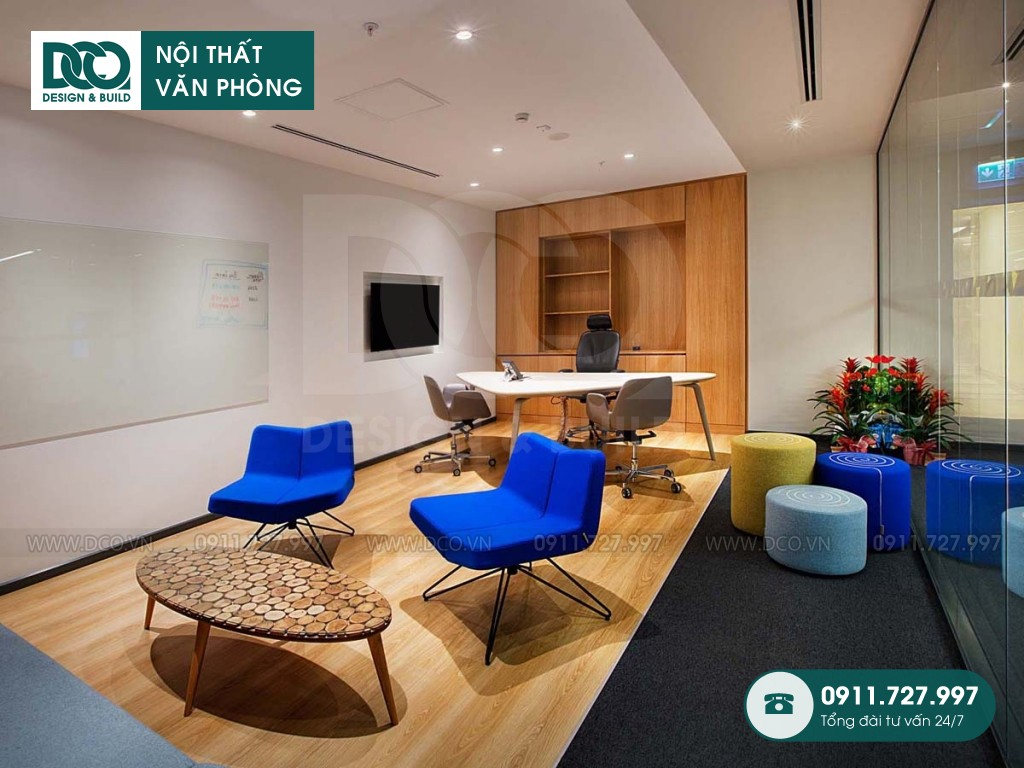 Chi phí thiết kế nội thất phòng tổng giám đốc