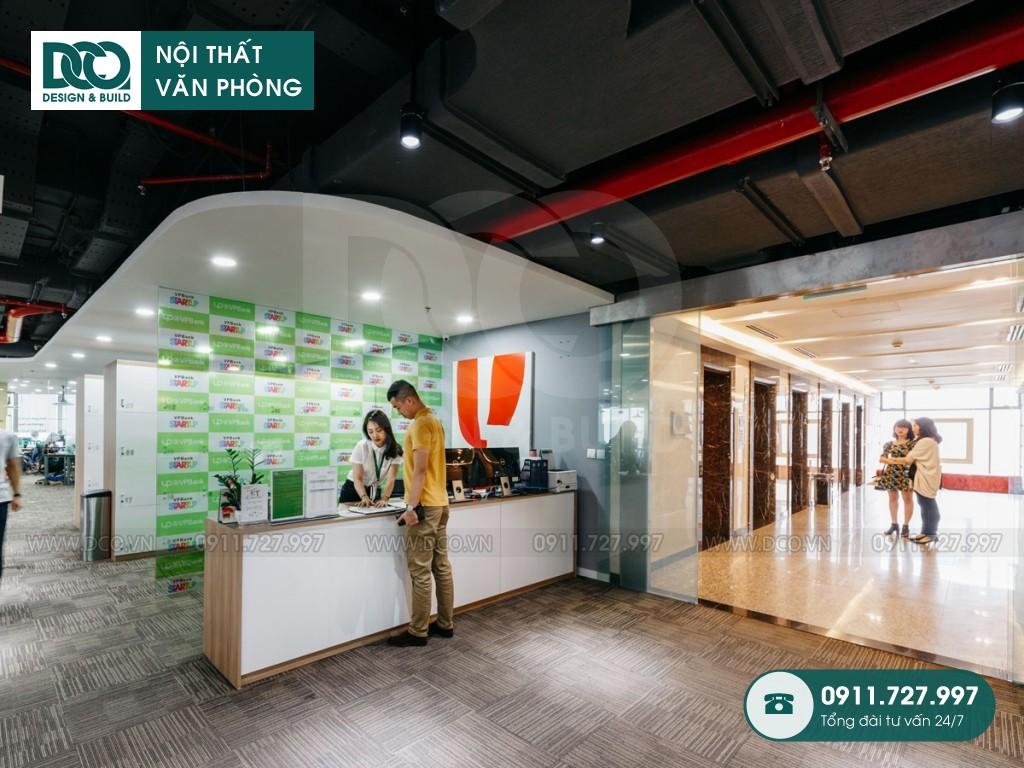 Thi công nội thất văn phòng 125 chỗ tầng 21 VP Bank