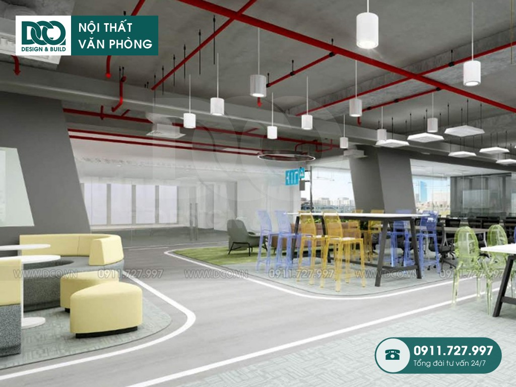 Sửa chữa nội thất Coworking Space Leadvisors Tower