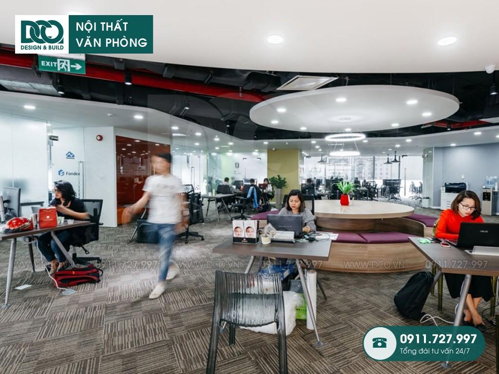 Sửa chữa nội thất Coworking Space tầng 21 VP Bank