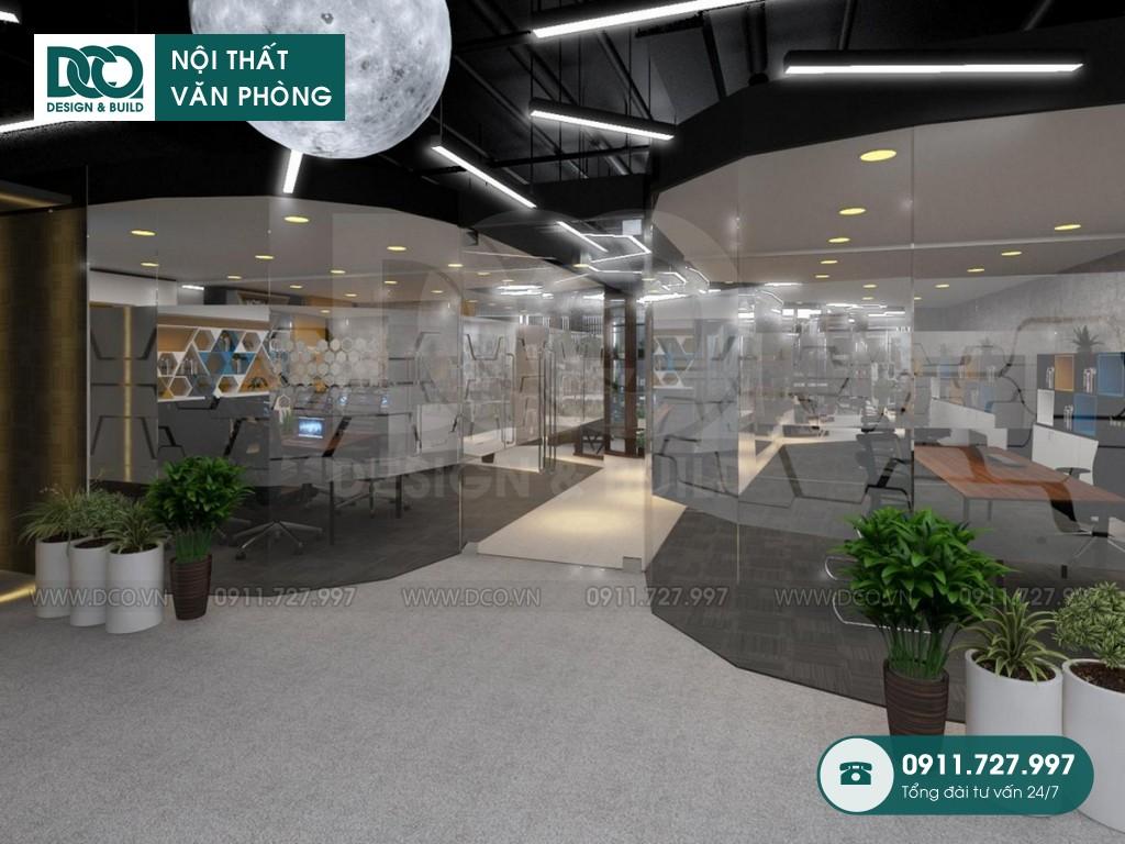 Sửa chữa nội thất Coworking Space Golden Net dự án 2