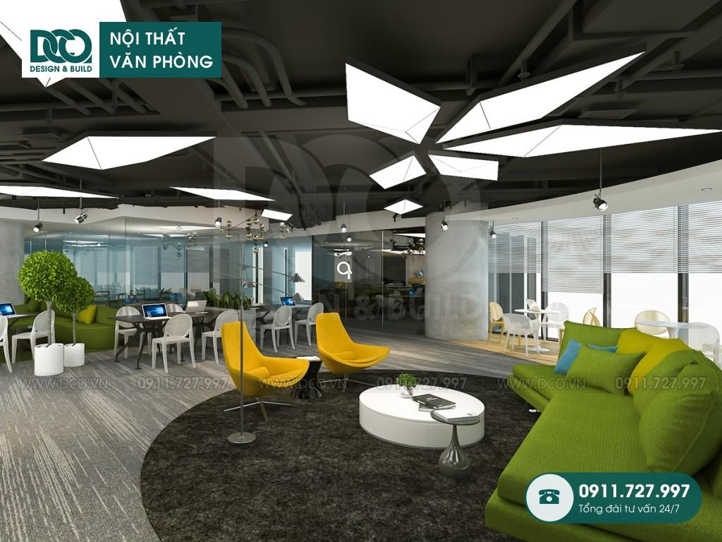 Sửa chữa nội thất Coworking Space tầng 22 VP Bank
