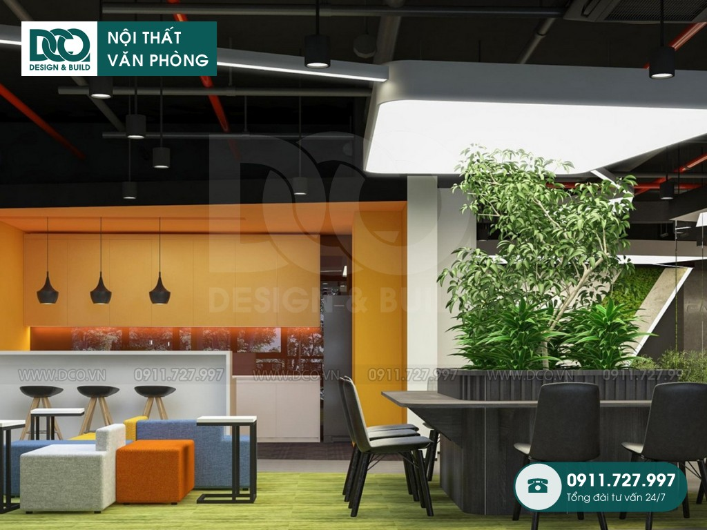 Thiết kế nội thất Coworking Space Golden West