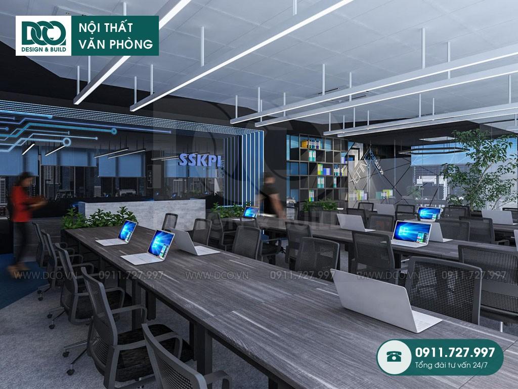 Chi phí thiết kế nội thất Coworking Space
